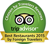 tripadvisor Best Restaurants 2015