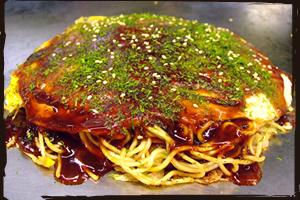 肉玉(そばorうどん)イカ天・大葉入り